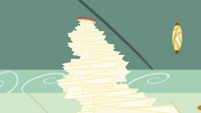 Tower of cheese slices S4E11