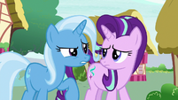 Trixie --not as impressed with your friends-- S6E25