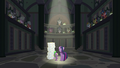 Twilight and Spike in the EEA's chamber S8E1.png