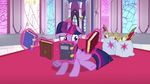 Twilight levitating books S3E01
