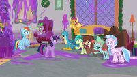 Young Six annoyed they have to clean up S8E16