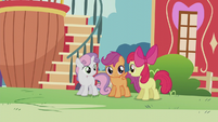 "Apple Bloom ""spend an awful lot of time fussin' and frettin'"" S5E18"