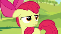 Apple Bloom looking very annoyed S5E17