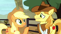"Applejack ""how am I supposed to focus"" S5E6"