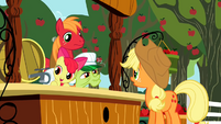 Applejack looking at family S2E15