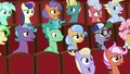 Audience ponies in even more shock S8E5.png