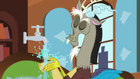 Discord washing his hands S7E12