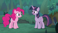 Fake Twilight -looking for Fluttershy and Rainbow Dash- S8E13