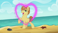 Feather Bangs with a heart drawn in front of him S7E8.png