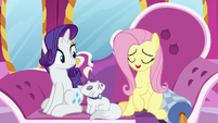 """Fluttershy """"we have no need for curtains"""" S7E5"""