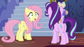 Fluttershy accepting Starlight's orders S6E21.png
