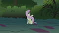 """Fluttershy cries """"Wait!"""" as Applejack tries to subdue the manticore S1E02.png"""