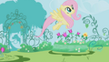 Fluttershy in her imagination S1E03.png