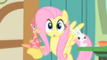 Fluttershy with Philomena in the hoof S1E22.png