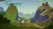 Guerra en el valle de las Montañas Nebulosas LHylM