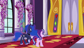 Luna and Starlight in front of large castle doors S7E10.png