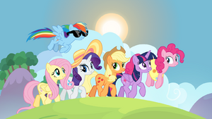 Mane six on friendship retreat S7E2