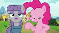 "Maud ""a lot of structures are made from rocks"" S7E4"