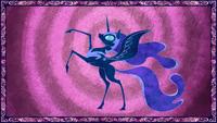 Nightmare Moon depicted in legend S1E1