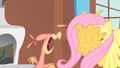 Philomena spitting up food S01E22.png