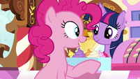 "Pinkie ""in my secret party planning cave!"" S7E3"