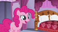 Pinkie -that welcome is warranted by- S5E14