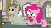 "Pinkie Pie ""standing here all this time"" S8E3"
