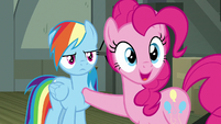 "Pinkie Pie ""we completely understand"" S7E18"