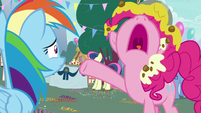 "Pinkie Pie ""while laughing at me!"" S7E23"