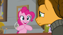 "Pinkie Pie ""you're a party pony like me"" S9E14"