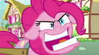 "Pinkie Pie going crazy ""now eat up!"" S7E23"