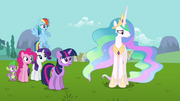 Princess Celestia -Fluttershy may know best- S03E10