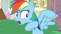 "Rainbow Dash ""we need to be able to fly!"" S8E17"