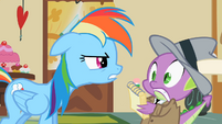 Rainbow Dash & Spike S2E8
