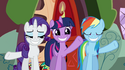 Rainbow Dash eye marks error S02E21