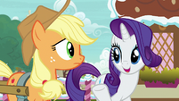 "Rarity ""Applejack is an unorthodox choice"" S7E9"