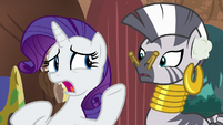 "Rarity ""I can't seem to hear anything!"" S8E11"