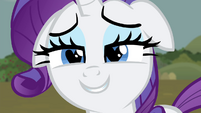 Rarity with hearts in her eyes S4E13
