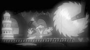 S02E24 Gustave le Grand zamierza przeciąć tort piłą tarczową
