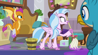 "Silverstream ""happy Snilldar to you too"" S8E16"
