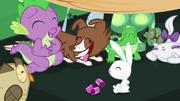 Spike e bichinhos felizes T03E11