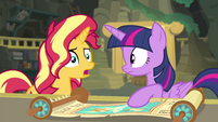 Sunset Shimmer -someone is using it- EGFF