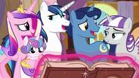 Twilight's family looks forward to the Northern Stars S7E22