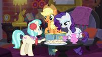 Applejack -you're enjoyin' each other's company- S5E16