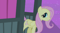 Fluttershy about to leave S4E14