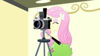 Fluttershy using a camera SS7