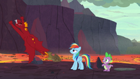 Garble flies off without Netitus S7E25