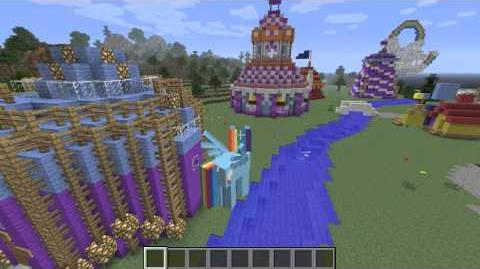 Let's Play - Mine Little Pony Minecraft Mod and Equestria Map !!!