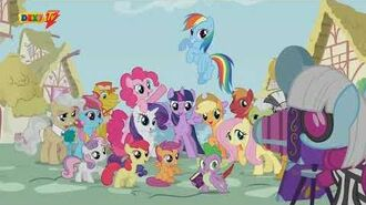 MLP. Theme Song and Ending. S4 (Serbian, Blue House)