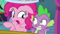 Pinkie -you didn't tell me this was a pity party!- S8E2